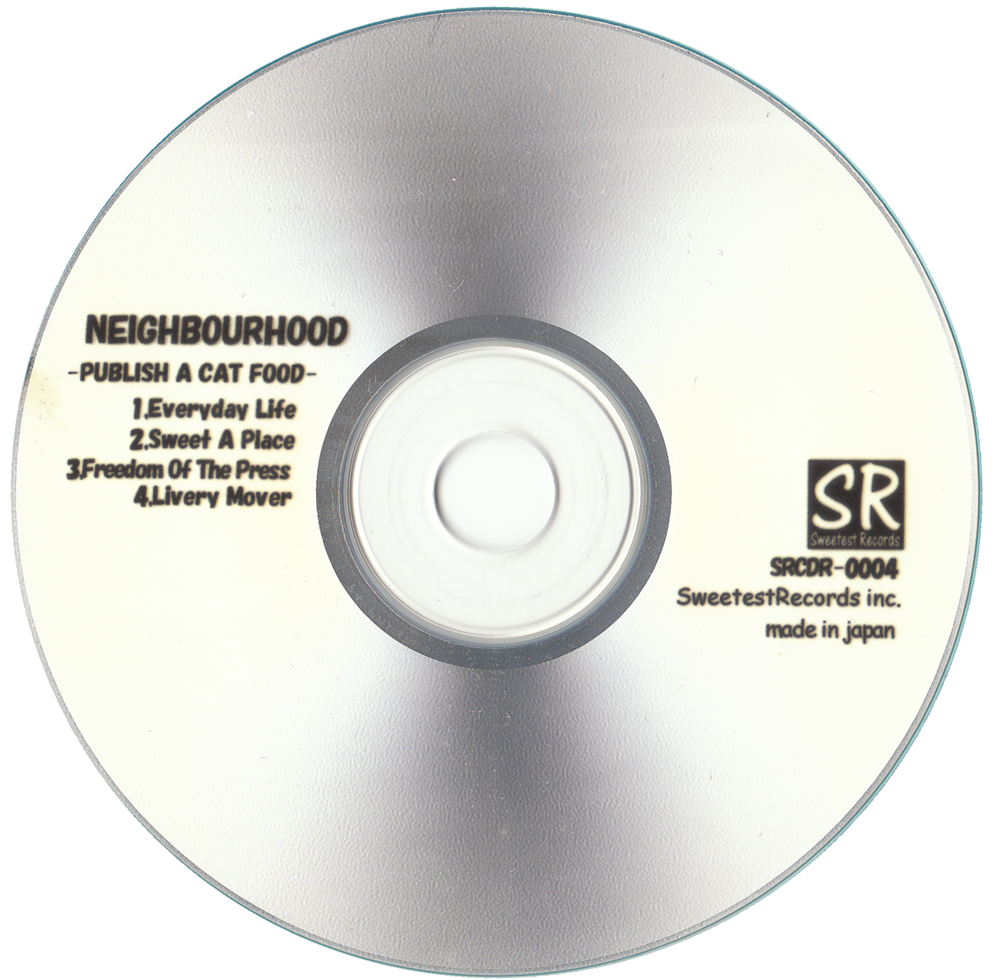 SRCD−004|NEIGHBOURHOOD 1st|盤面デザイン
